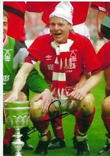 12x8 Inch PHOTO HAND SIGNED By STUART PEARCE NOTTINGHAM FOREST