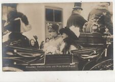 Victoria Luise & Ernst August Vintage RP Postcard Germany Royalty 018b