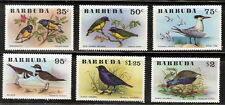 Barbuda 1976 Birds Complete Set of Six (6) MNH (SC# 238-243)