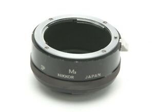 Vintage Nikon M2 Extension Tube & F-C Adapter To C-Mount 16mm Movie Cameras.
