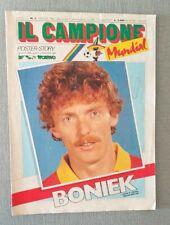 BONIEK - ROMA. Poster Story , Il Campione Guerin Sportivo Marzo 1986. Cm 62 x 91