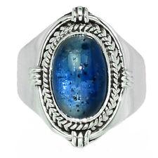 Bleu Cyanite 925 Bague en Argent Bijoux S.7.5 AR116860 36Z