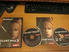 PS2 Silent Hill 3 (Playstation 2) Complete CD Soundtrack Immaculate Free Ship