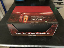 BUDWEISER FOOTBALL noise activated  Light up the World Cup (Case of 12 new)