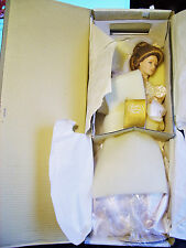 "Beautiful Franklin Heirloom Gibson Bride Doll 22"" Never Removed From Box New"
