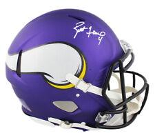 Brett Favre Signed Minnesota Vikings Speed Authentic NFL Helmet