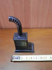 Old Pencil Sharpener Metal Wood Burning Stove with hose Antique Style D Era