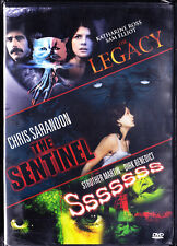 The Legacy / The Sentinel / Sssssss NEW DVD
