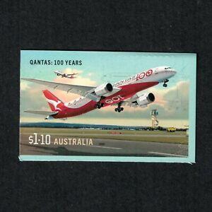 2020 Civil Aviation 100 Years $1.10 Self Adhesive Booklet Stamp MUH/MNH