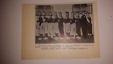 Firemen Elgin Illinois National Watch Company 1910 Indoor Baseball Team Picture