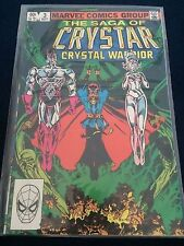Crystar Crystal Warrior #3 Marvel Comics 1983