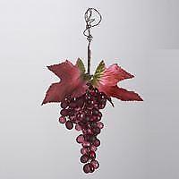 Kurt Adler Burgundy Grape Ornament