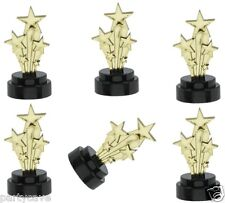 6 HOLLYWOOD PARTY MOVIE FILM AWARD MINI TROPHY PROM TABLE DECORATION
