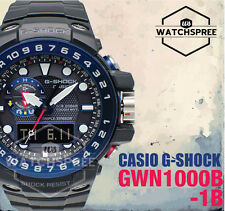 Casio Analog Digital Sport Mens G Shock Black Watch Gwn-1000b-1b