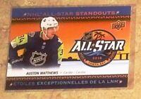 2018-19 Upper Deck Tim Hortons Hockey - All-Star Standouts Auston Matthews #AS-4