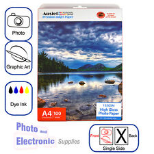 A4 High Gloss Photo Paper for Dye-based Inkjet 135gsm (100 Sheets), Glossy