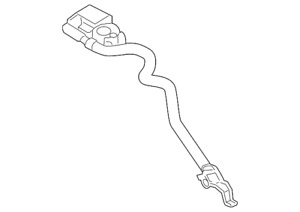 OEM NEW 2012-2019 Ford Escape C-Max Transit Connect Negative Cable AV6Z-10C679-P