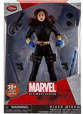 "Disney Store Marvel Ultimate Series Black Widow Premium 10"" Action Figure"