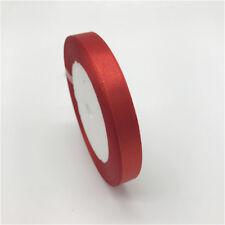 "10mm 3/8"" (1Roll 25yds) Silk Satin Ribbon Wedding Decoration Card Gift Packing"