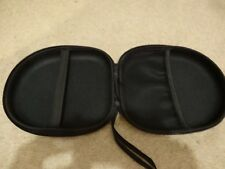 Black headphones case bag universal storage case in excellent condition