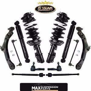 Front Strut Coil Spring Assembly & Rear Shocks & Suspension Steering Chassi Kit