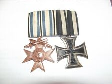 #2er Ordensspange EK2 - Merenti Mvk 3.Klasse con Schwertern Orden Alemania