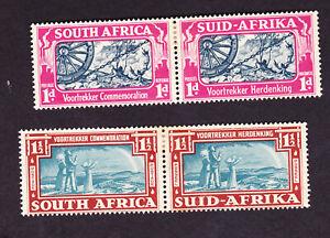 South Africa GVI 1938 voortrekker mm,(tiny tone spots) cat £21.50
