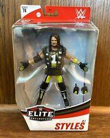 AJ Styles WWE Mattel Elite Series 74 Action Figure New Wrestler Wrestling NJPW