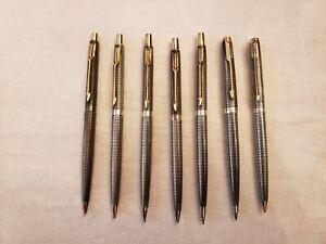 Vintage Parker 75 USA Sterling Silver Cisele Mechanical Pencils READ DESC