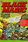 Black Magic 26 Comic Book Cover Art Giclee Reproduction on Canvas