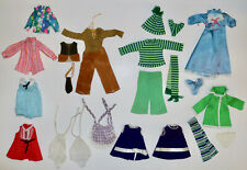 Ideal Velvet Crissy grow hair family doll clothing and accessories lot vintage