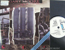 """GARY MOORE 7"""" X 2 Take A Little Time LIVE PROMO Sweden 87 GATEFOLD PS Double Pk"""