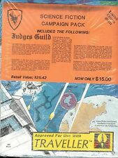 Judges Guild Traveller Science Fiction Campaign Pack Five Adventures!