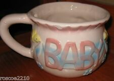 Baby Planter- Chamber Pot with Designs-Vintage
