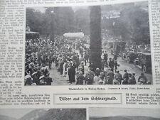 1911 Baden Baden fiori Korso sanatorio Groddeck