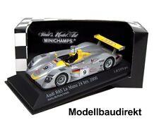 Audi R8S Le Mans 2000 Aiello McNish Ortelli 1:43 Minichamps 430000909 NEU & OVP