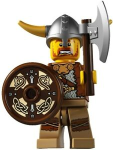 #6 LEGO Minifig series 4 Viking battle army castle 8804