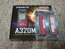 Gigabyte A320M-S2H Motherboard Combo w/ RYZEN 5 1600/16GB DDR4 2400