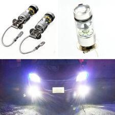 2Pcs Auto Car H3 6000K 100W LED 20-SMD CREE 360° Fog Driving DRL Fog Light Bulb