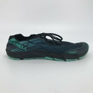 Merrell Mens Bare Access Flex Trail Running Shoes Blue J12555 Low Top Mesh 11.5M