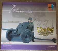 "Dragon Action figure German BRANDT 3.7 cm Pak 1/6 12"" Coffret a Cyber Hot toy"