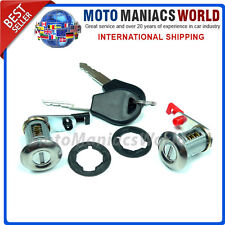 NISSAN MICRA K11 PRIMERA P10 Sunny N14 Terrano 2 R20 Door Lock Set Barrel NEW !