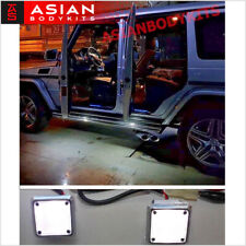 for Mercedes Benz G class W463 DOOR WELCOME LED LIGHT WHITE lamps 4pcs 86-17