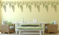 Wisteria Stencil Branch Tree Garden Painting Wall Furniture Reusable Crafts FL60