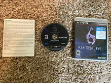 RESIDENT EVIL 6 Sony PlayStation 3 PS3 Nice SHIPS QUICK & FREE!