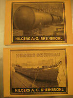 Firma Hilgers Stahlbau AG Rheinbrohl.Original Werbung 1940-publicity