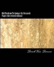 NEW Odd Nerdrum Technique the Research Pages (the revised edition)