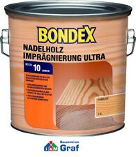 Bondex Softwood Waterproofing Plus COLORLESS for Outdoor 4,0 L / #873
