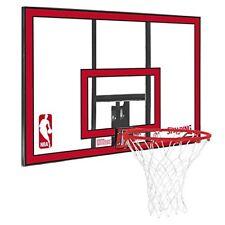 Spalding NBA Polycarbonate Backboard Durable All Weather Pro Basketball Hoop