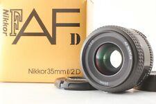 【TOP MINT IN BOX】 Nikon AF NIKKOR 35mm f/2 D Auto Focus Lens from JAPAN